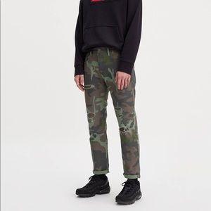 NWT Men's Levi's Hi-Ball Roll Camo Jeans